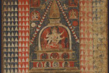 Myriad Stupas with Ushnishavijaya (Paubha)