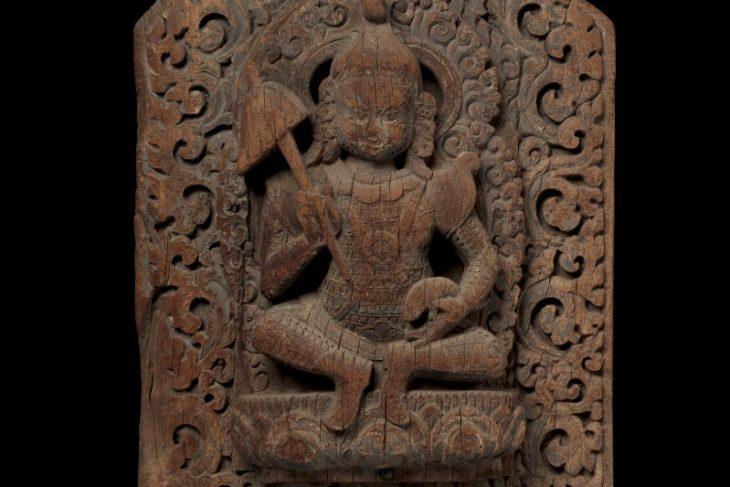 Temple Pennon with Vaishravana