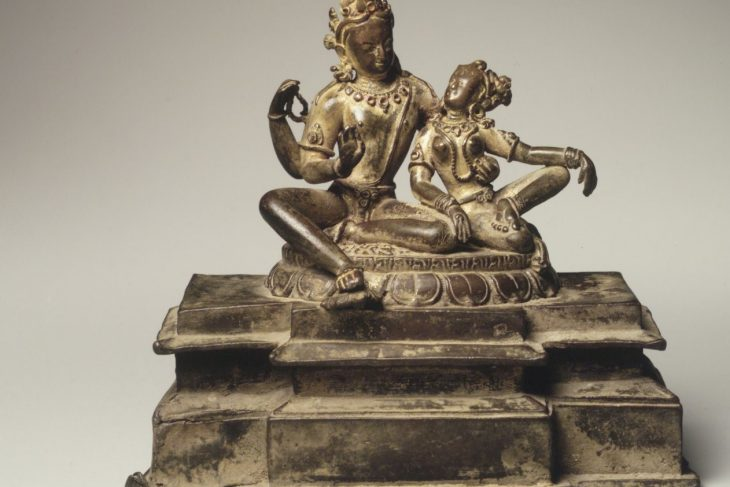 Uma-Maheshvara (Shiva and His Consort Parvati)