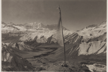 Prayer Flag and Mountains, 1998